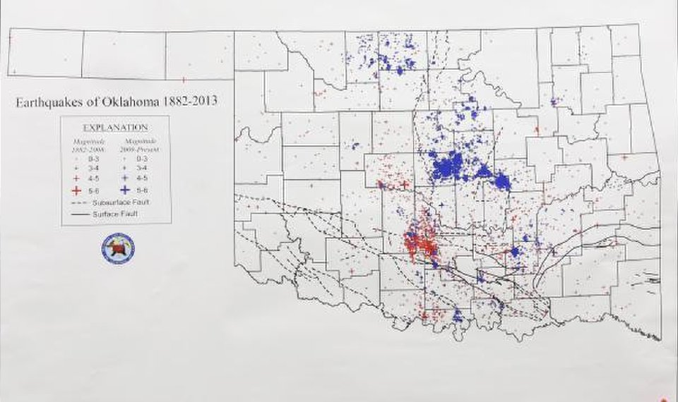 Geologist: History shows Oklahoma earthquakes not new