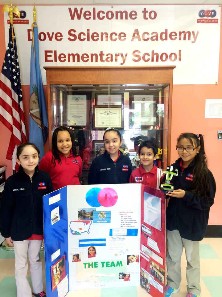 Dove Science Academy Elementary Team In Oklahoma City Wins