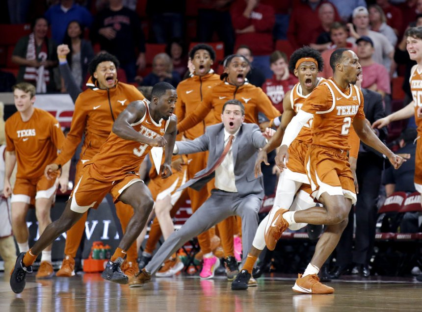 OU basketball: Texas stuns Sooners 52-51 on last-second 3-pointer ...