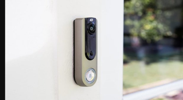 Photo -  The ADT Video Doorbell can be controlled by an app. [PHOTO PROVIDED BY ADT]