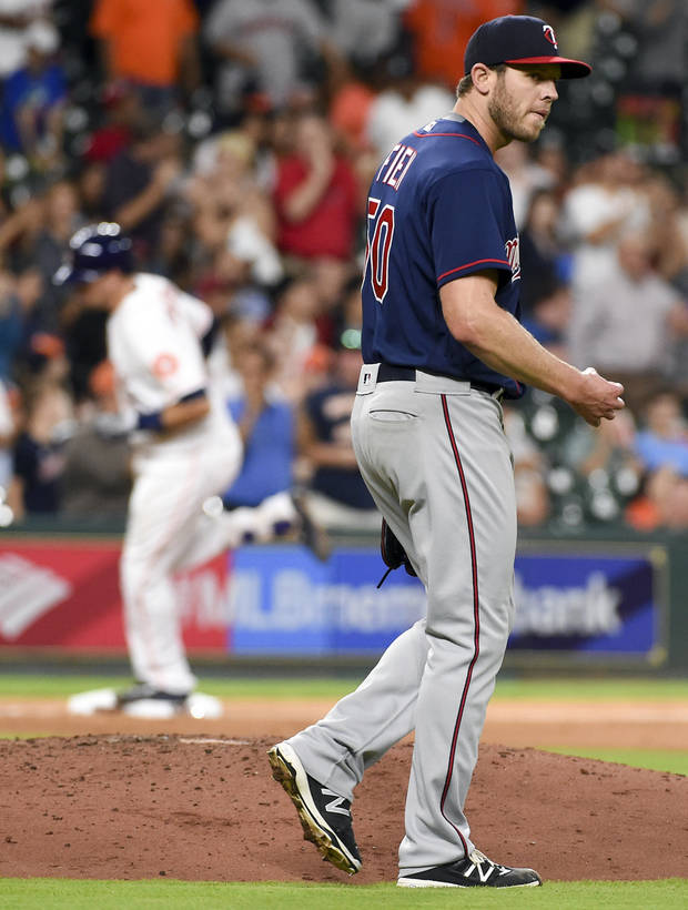 Hughes Struggles As Twins Blown Out By Astros 16 4 News OK