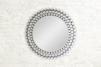 Image Result For Contemporary Metal Wall Art Diamante Mirror