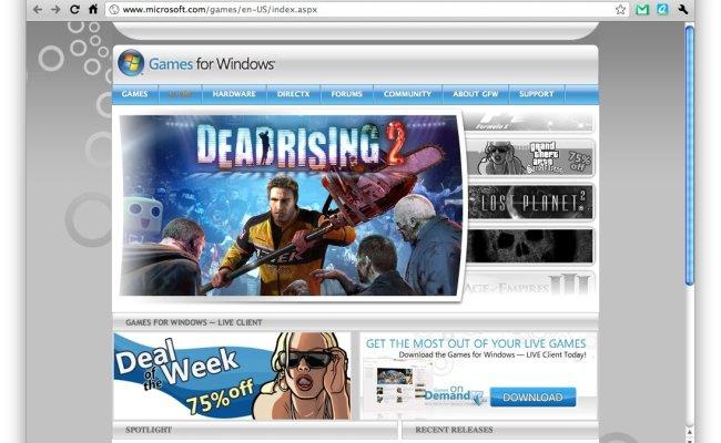 Microsoft Lancera Un Marketplace Pour Les Jeux Le 15 Novembre