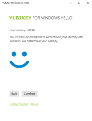 Yubikey Windows 10 Hello