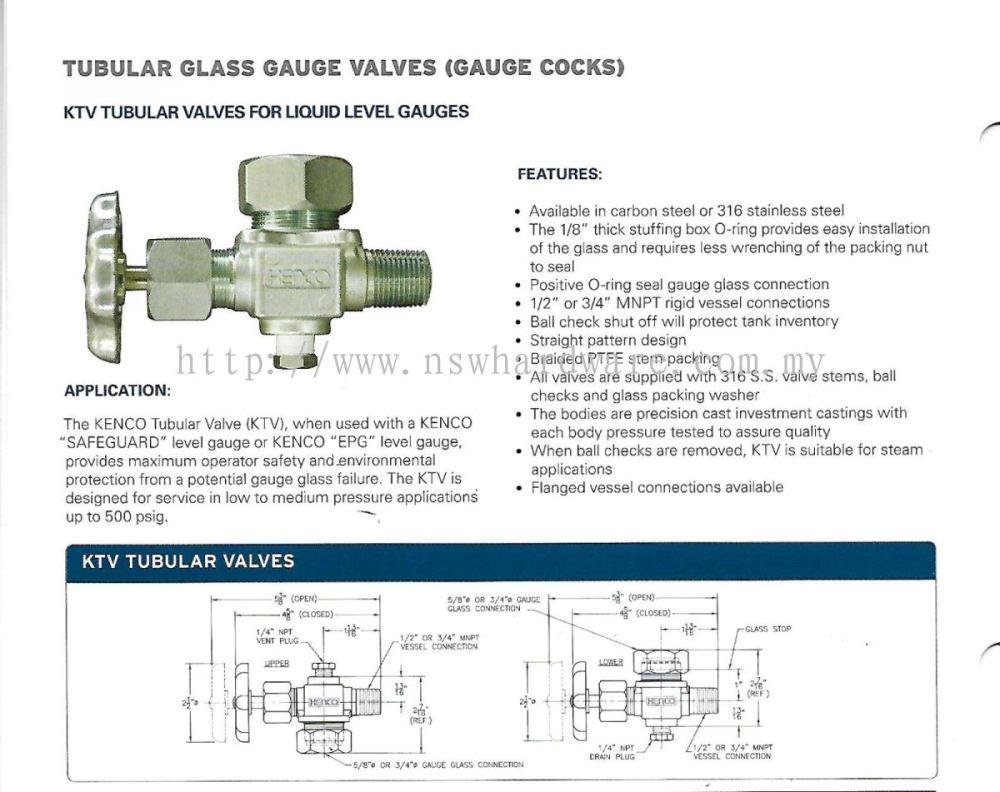 medium resolution of ktv tubular glass guage valve gauge cock