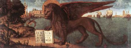 Carpaccio The Lion of St Mark Painting | Vittore Carpaccio Oil ...
