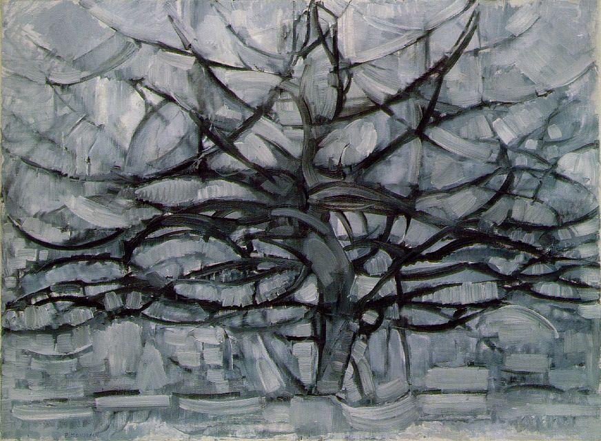 the gray tree
