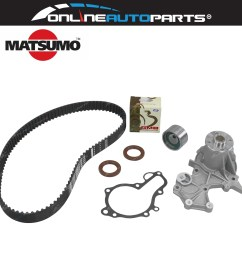 timing belt water pump kit suzuki vitara se416 1991 1998 4cyl g16b 1 6l [ 1600 x 1600 Pixel ]