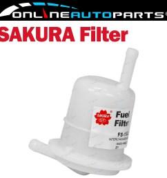 fuel filter suits toyota corolla ae82r ae90 ae92 ke55 1 3l 1 6l 1 4l 4cyl [ 1600 x 1600 Pixel ]