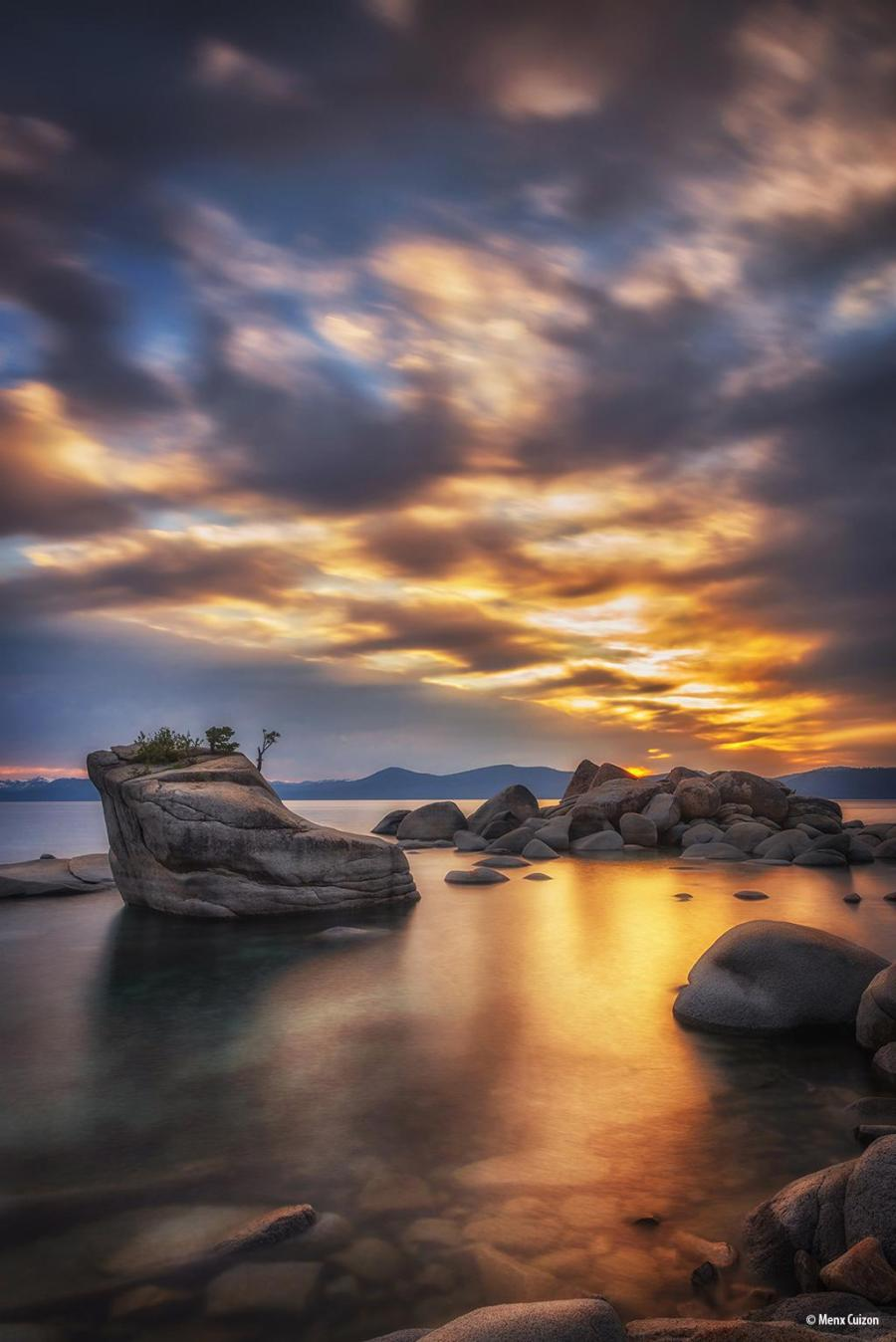 """Today's Photo Of The Day is """"Miniature"""" by Menx Cuizon. Location: Bonsai Rock, Lake Tahoe, Nevada."""