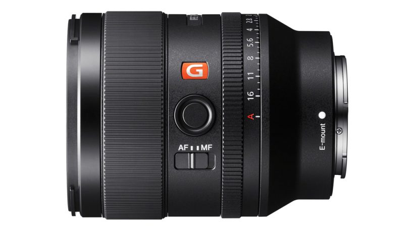 Image of the Sony FE 35mm F1.4 GM lens