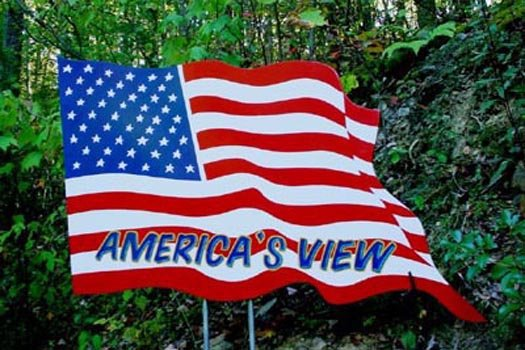 Americas View  A Pigeon Forge Cabin Rental