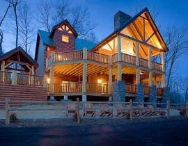 6 - 9 bedroom cabins in gatlinburg & pigeon forge | american