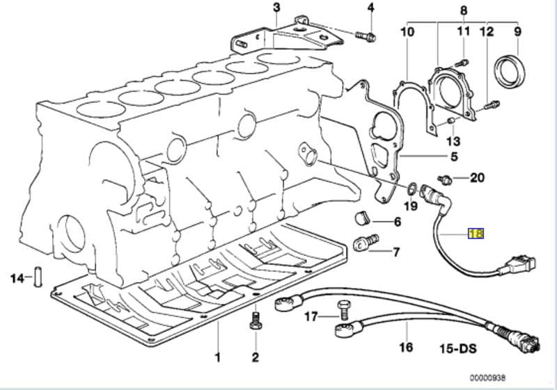1989 bmw e30 radio wiring diagram for toyota e36 crankshaft position sensor replacement 3 series 1983 1999 pelican parts diy maitenance article