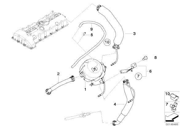 Bmw E Vanos Solenoid Repment Pelican Parts Intake Manifold