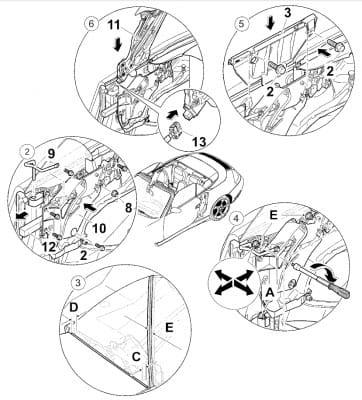 Porsche 911 Carrera Window Regulator and Motor Replacement
