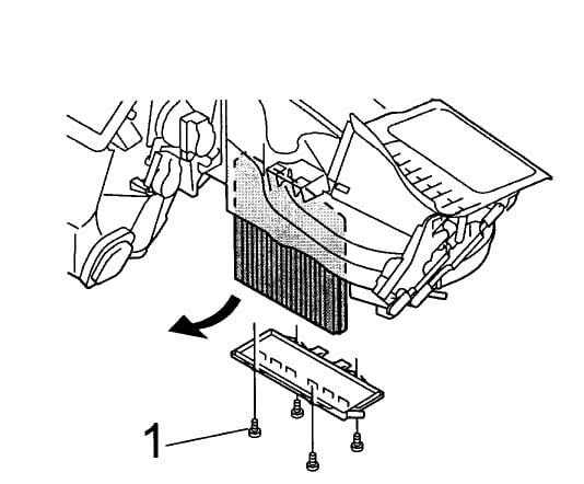 Volvo V70 Cabin Microfilter Replacement (1998-2007