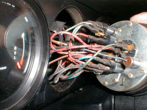 Car Fuel Gauge Wiring Diagram Porsche 911 928 944 Gauge Face Replacement 1965 1989