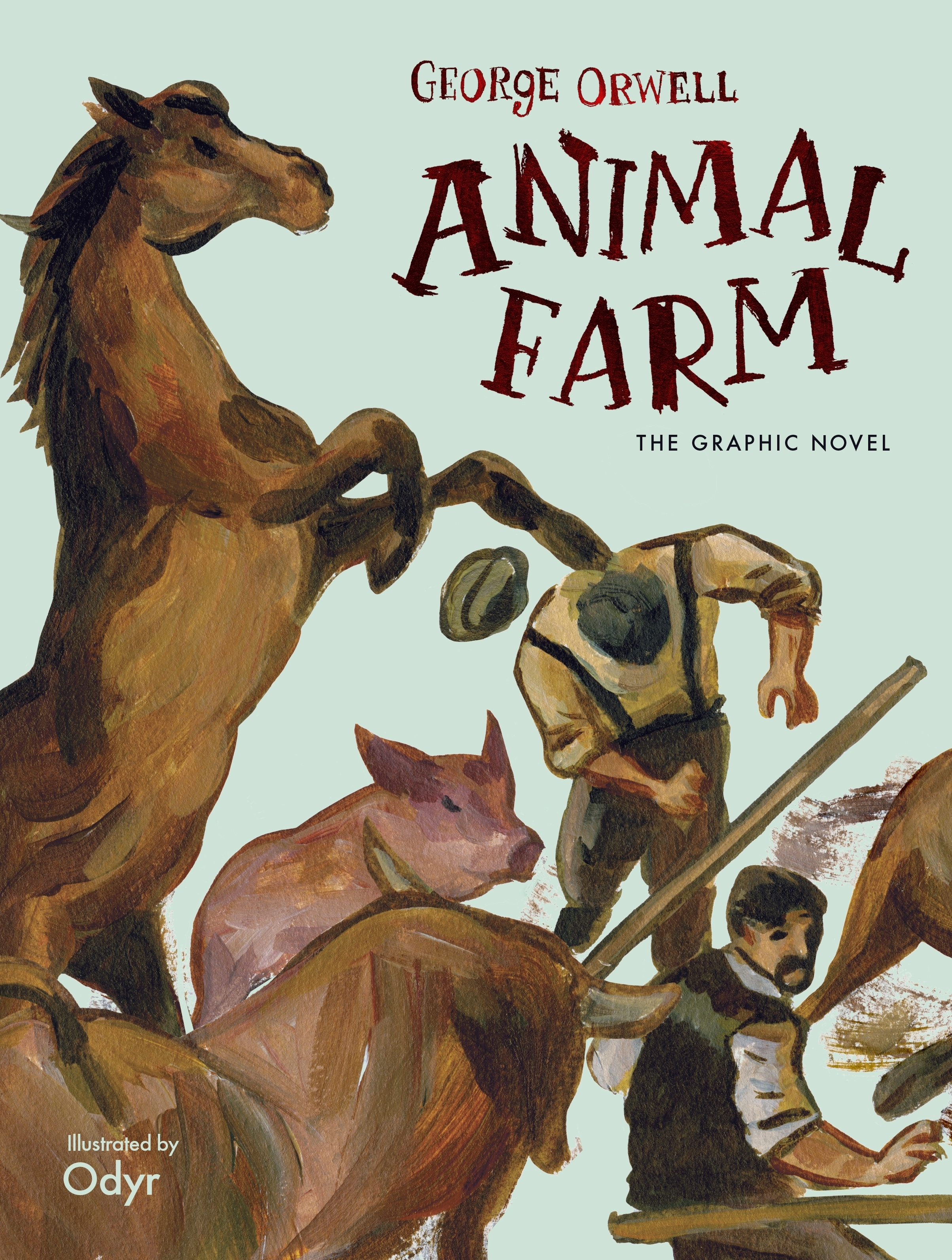 Animal Farm Graphic Novel By George Orwell