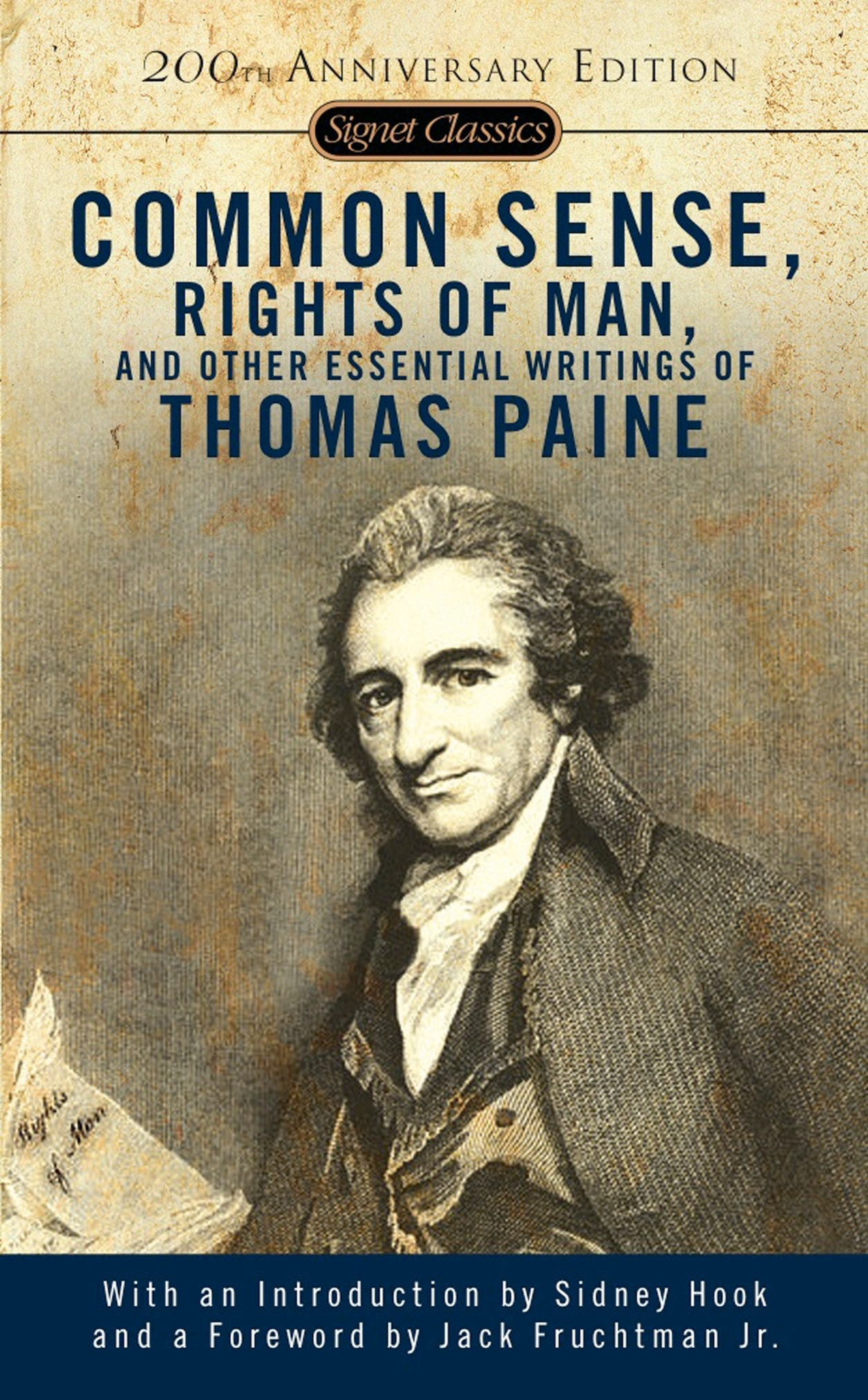 Common Sense The Rights Of Man And Other Essential