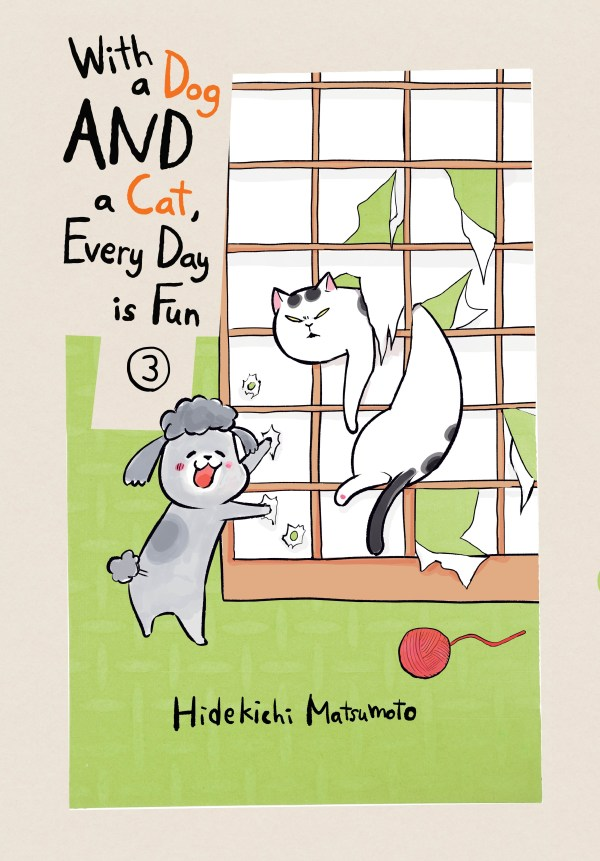 WITH DOG AND CAT EVERYDAY IS FUN GN VOL 03