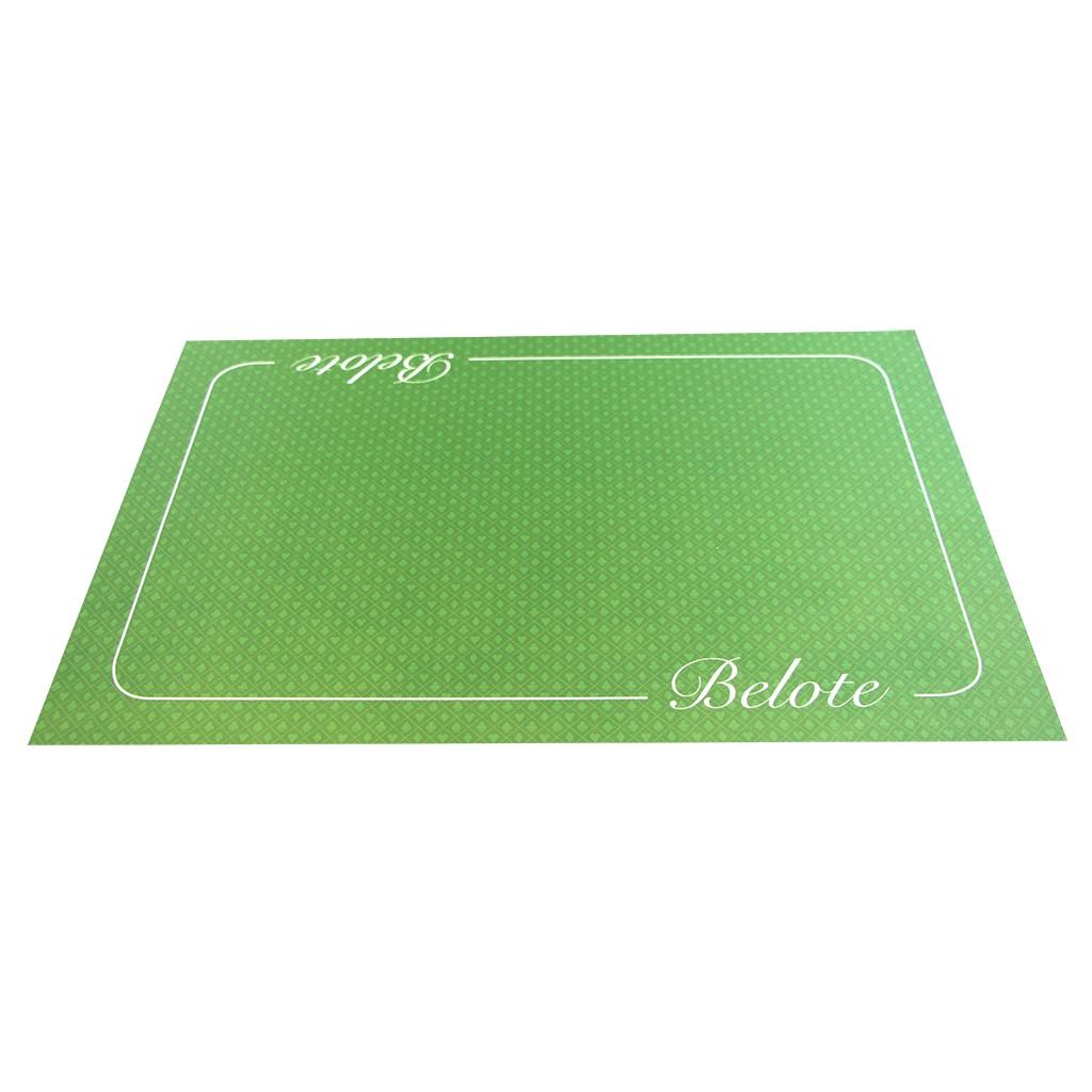 acheter tapis belote cœur de pique excellence vert 40x60cm jeux classiques loisirs nouveaux