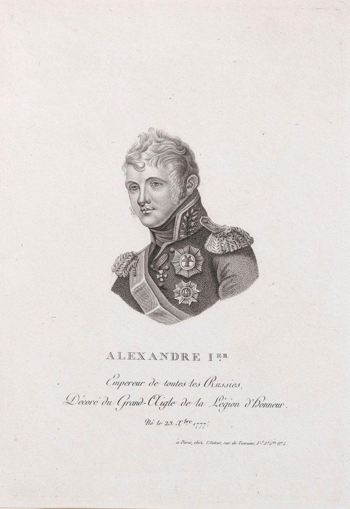 Alexander I, emperor of Russia (1801–25). Portrait