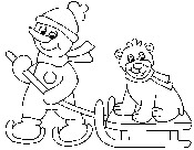 Winter Coloring Pages, Fun Winter Images to Color
