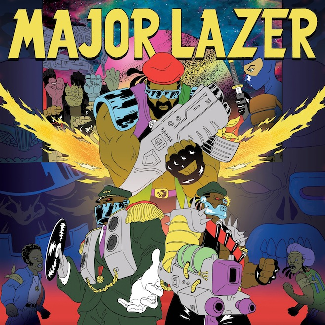 Major Lazer Share