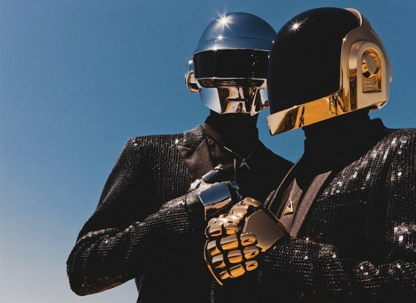 Daft Punk Were Shooting... Something... in New York Today