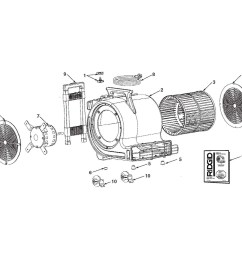 zoom in am2550 am2500 am25001 air mover assembly [ 1000 x 993 Pixel ]