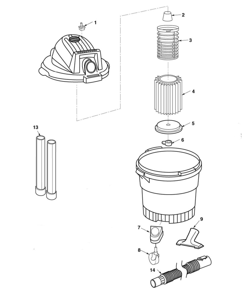 medium resolution of zoom in wd06250 vac assembly