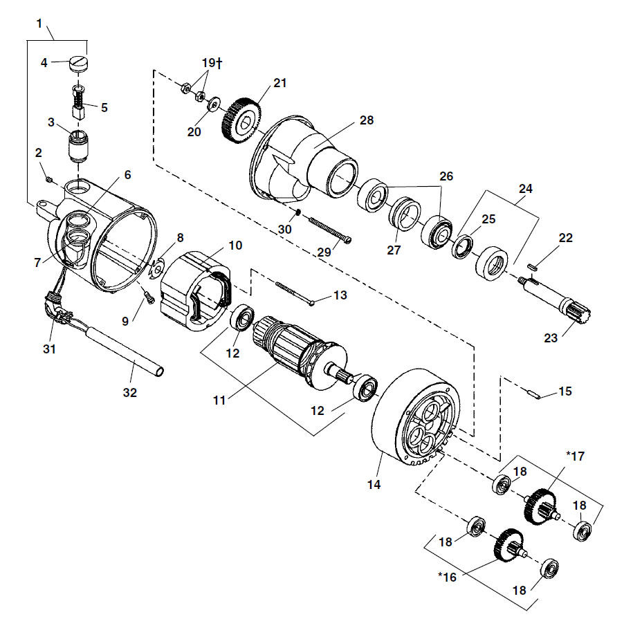 hight resolution of zoom in motor 1194 1194a 2394