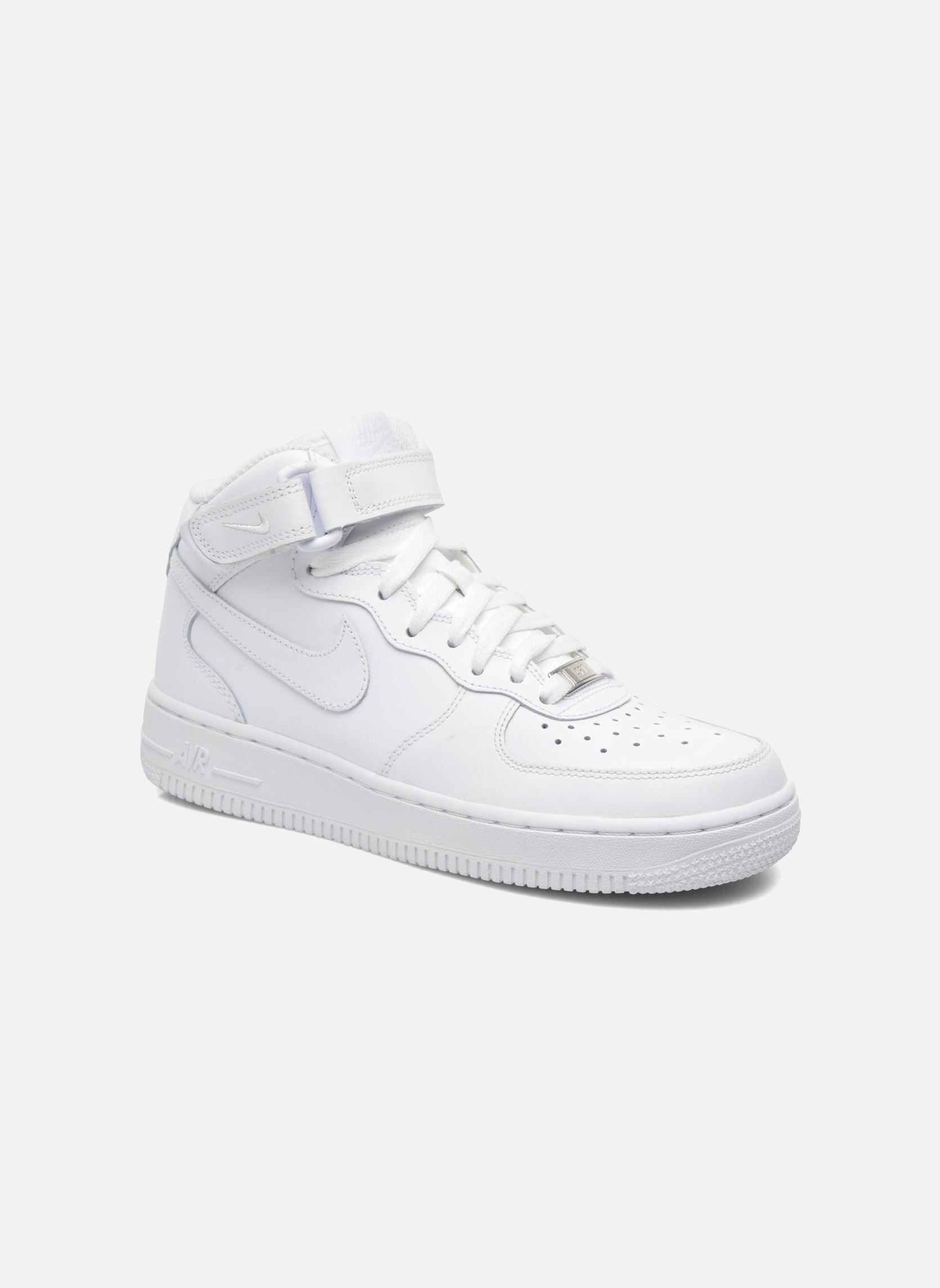 Bullboxer Boots Nike Air Force 1 Mid (gs) (blanc) - Chaussures De Sport