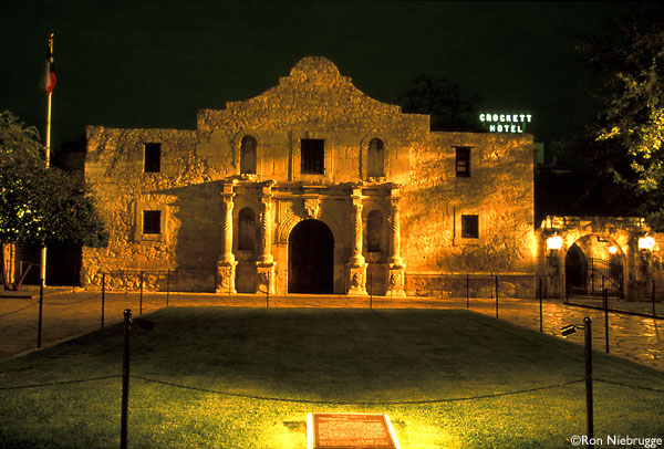 James Anderson There's No Basement At The Alamo