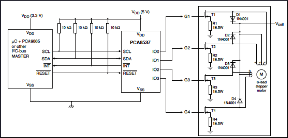 schematic for the servo controller pictures to pin on pinterest