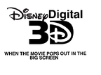 Disney Digital 3D logo (2011-) on Scratch
