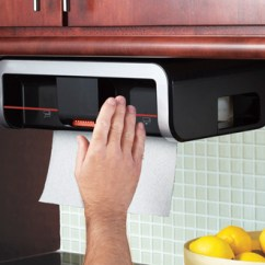 Automatic Paper Towel Dispenser For Kitchen Cabinets Com Clean Cut Sharper Image 100 Satisfaction Guaranteed