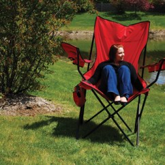 Big Folding Chairs Chair Mechanism Oversized Sharper Image 100 Satisfaction Guaranteed