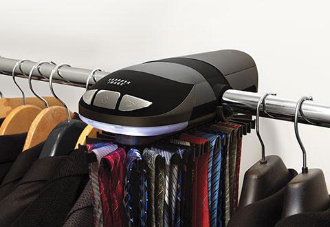 Motorized Tie Rack Sharper Image