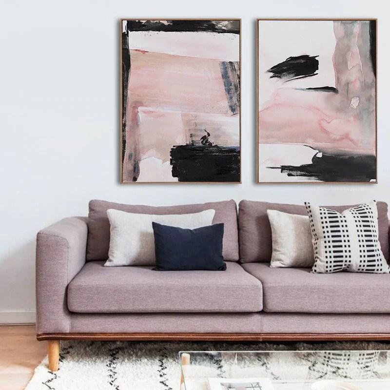 shades of pink abstract