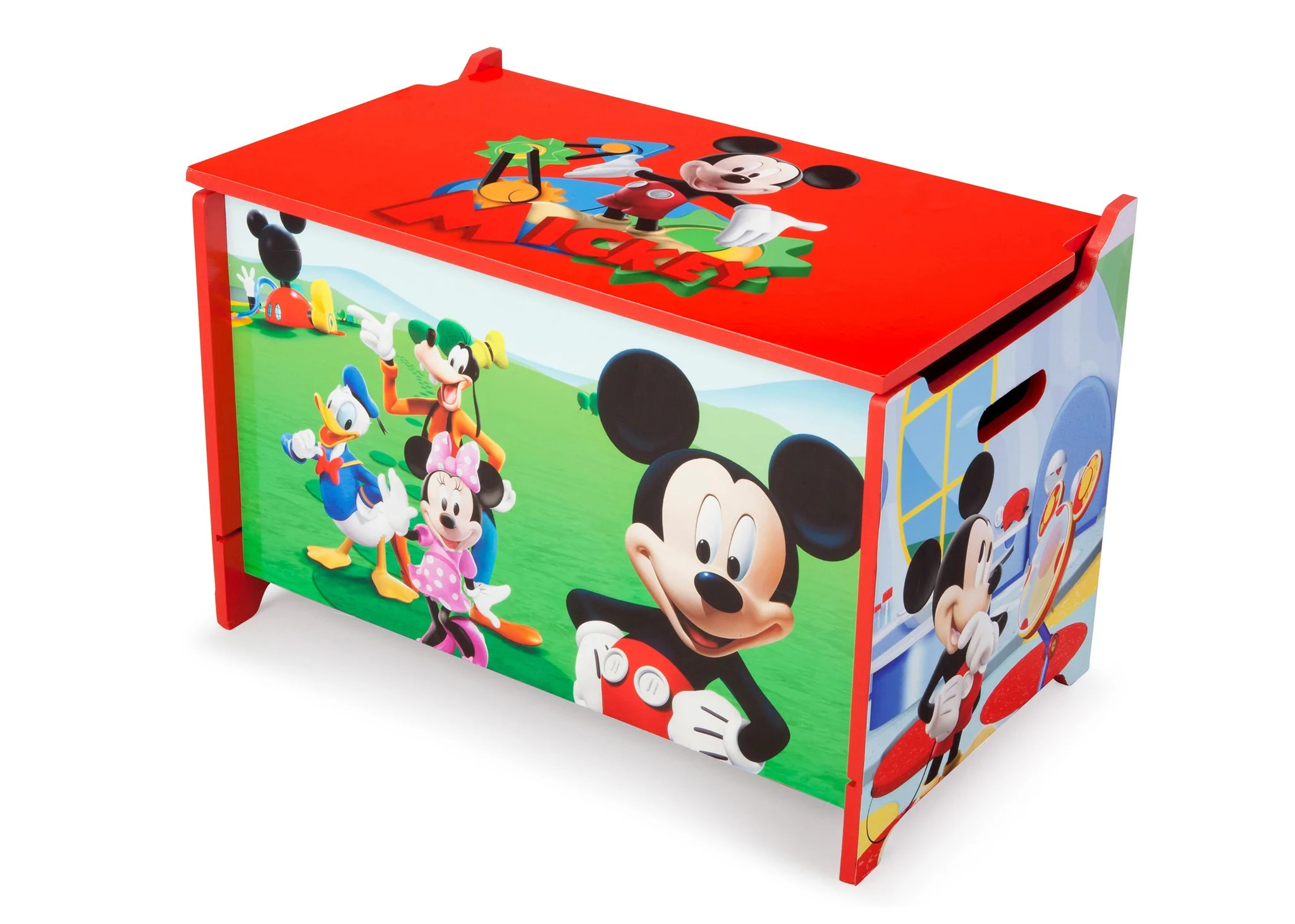 Mickey Mouse Wooden Toy Box Delta Children Eu Pim