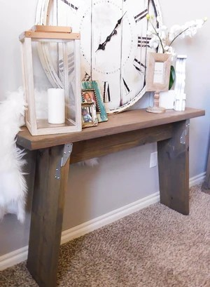 9 2048x - Industrial Console Table