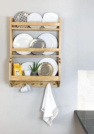 DIY Plate Rack 2048x - DIY Plate Rack