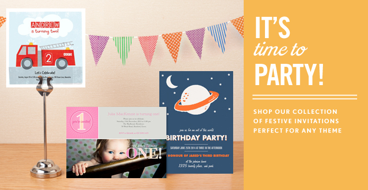 Girls Party Invitations Gtgt
