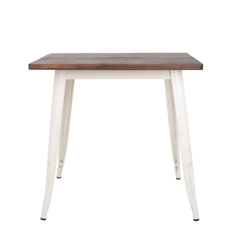 Tisch LIX Matt Holz 80x80  SKLUM