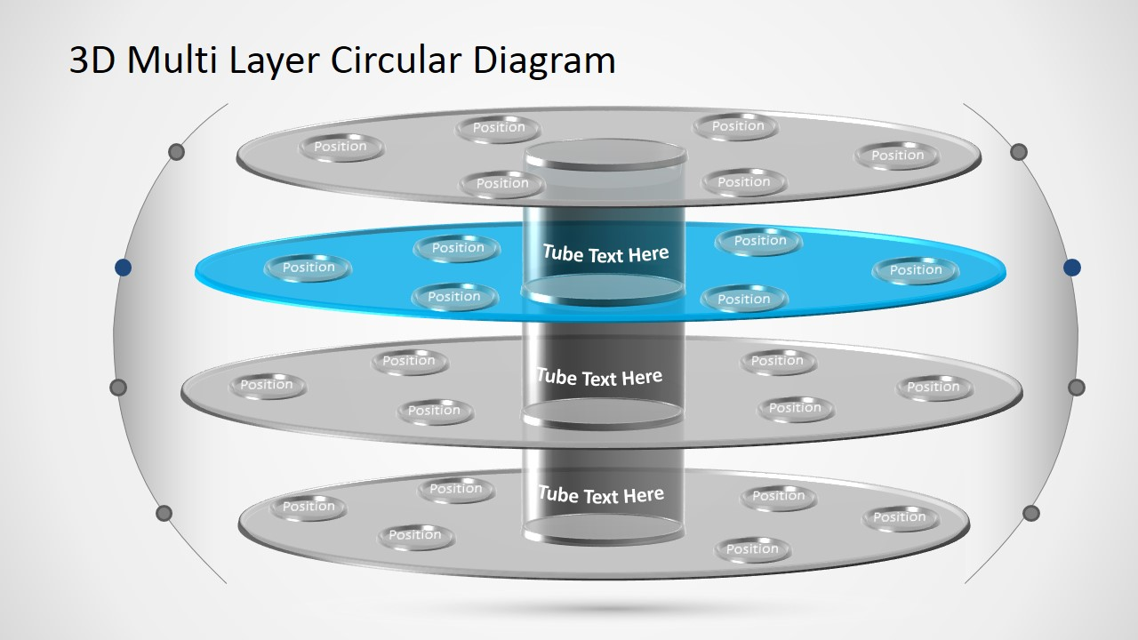 hight resolution of  powerpoint diagram template 3d circular layers