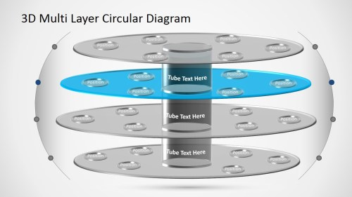 small resolution of  powerpoint diagram template 3d circular layers