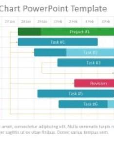 Powerpoint timeline template gantt also project chart slidemodel rh