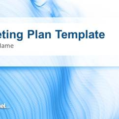 Free Circular Arrow Diagram Template Carrier Programmable Thermostat Wiring Blue Marketing Plan For Powerpoint - Slidemodel